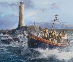 Passing Longships by Phil Weeks